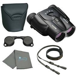 Nikon Sportstar Zoom 8-24x25 Binoculars Black for Sport with