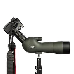 BNISE Spotting Scope, FMC Optics, 20-60x60 Zoom Monocular Wa