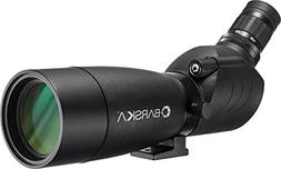 BARSKA 20-60 x 60 mm Spotting Scope Angled Eyepiece Waterpro