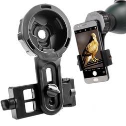 DoubleSun Spotting Scope Cellphone Mount-Design for Binocula