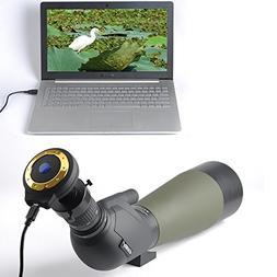 Spotting Scope USB Digital Eyepiece Camera for Digiscoping -