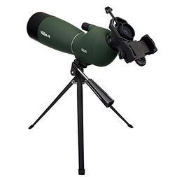 SVBONY Spotting Scope Telescope 25-75x70mm Bird Scopes for S
