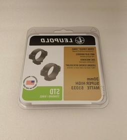 Leupold STD 30mm Super High, Silver
