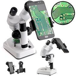landove Stereo Microscope - Science Lab 3D scope - 20X 40X M