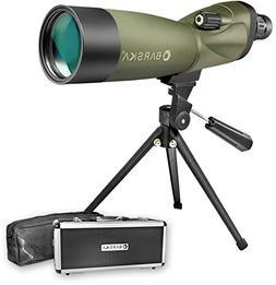 BARSKA 20-60 x 80mm Straight Zoom Spotting Scope Porro Prism