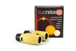 Sunoculars-Yellow with 8x the magnification of Eclipse Glass