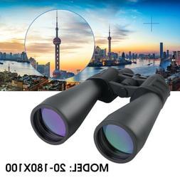 70mm Tube 20x-180x100 Super Zoom HD Outdoor Binoculars Night
