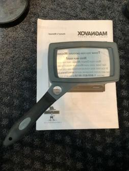 Carson SureGrip Series 2X Power Glass Magnifier with Hands-F