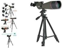 SV13 Spotting Scope Telescope for Hunting 20-60X80mm Zoom Ra