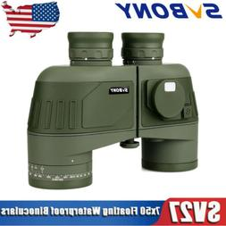 SVBONY SV27 7x50 Military Marine Binocular+Rangefinder Compa