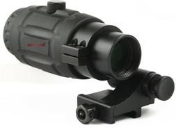 Vector Optics Tactical 5X Magnifier Scope for Red Dot Sights