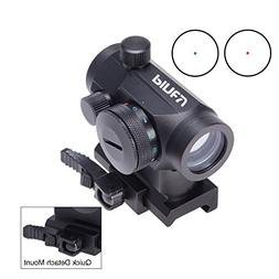 Pinty Tactical Reflex Red & Green Dot Sight Riflescope with