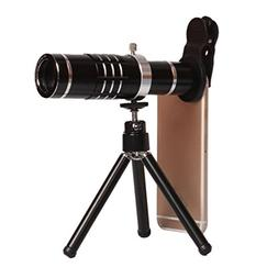 Finny Phone Lens 18X Telephoto Lens Clip-on Mobile Phone wit