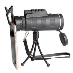 40*60 Outdoor Binocular Monocular kit w/Compass/Tripod/Phone