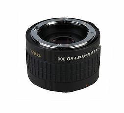 Kenko Teleplus DGX Pro 300 2.0X AF Teleconverter Lens for Ca