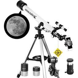 Telescope 60mm Apeture 700mm AZ Telescope - Refractor & Trav
