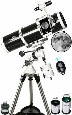 Gskyer Telescope, 130EQ Professional Astronomical Reflector