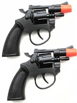 Toy Cap Gun: Set Of 2 Police Style 38 Super Cap 8-Shot Revol