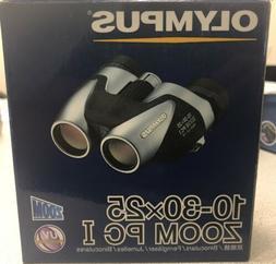 Olympus Tracker 10-30x25 Zoom PC I Compact & Lightweight Bin