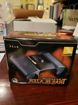 Nikon Trailblazer Black ATB Waterproof Compact 8x25 Binocula