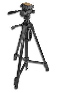 Carson TriForce 3-Way Pan-Head Tripod, Black, 58-Inch