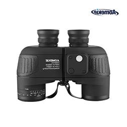 Aomekie Marine Military Binoculars for Adults Kids 7x50 Bino