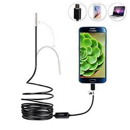Ultra Slim 0.21 inch Dia. Probe USB Endoscope with Semi Rigi