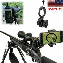 Universal Cell Phone Camera Adapter Mount Binocular For Tele