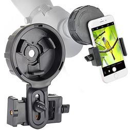 Universal Cell Phone Spotting Scope Mount Big Type Photograp