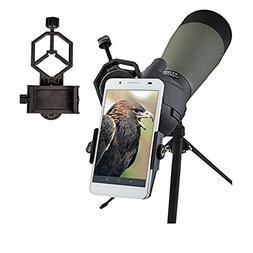 Universal Mobile Phone Holder,Spotting Scope Cellphone Adapt