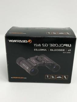 upclose g2 8x21 roof binocular 71230 bnob