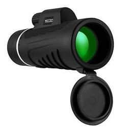 Occer Upgraded 12X42 HD Compact Monocular Telescope for Adul