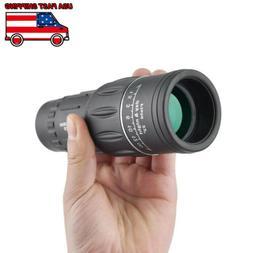 US 40x60 HD Optical Monocular Night Vision Hunting Camping T