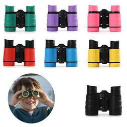 US Kids Binoculars Rubber Toy Educational Toy Bird Watching