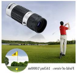 USA Range Finder Distance Meter Finder Binocular Pocket Scop