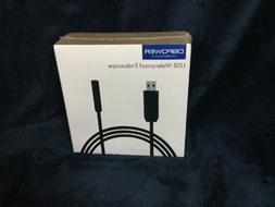DBPOWER USB Waterproof HD 6LED Borescope Endoscope Inspectio