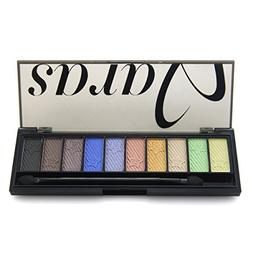 Pure Vie Professional 10 Colors EyeShadow Palette Makeup Con