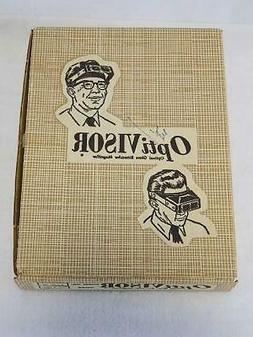 Vintage OptiVisor Headband Magnifier Optical Glass Binocular