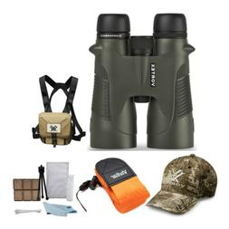 Vortex 12x50 Diamondback Roof Prism Binoculars with Glasspak