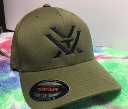 edb15a09cf74c Editorial Pick Vortex Optics Logo Embroidered Flexfit Ball Cap Hat Black