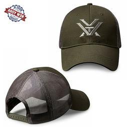 Vortex Optics Logo Embroidered Yupoong Snapback Olive & Grey