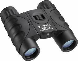 Barska Waterproof Compact Golf Spectating Binoculars, 10x25m