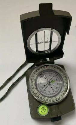 waterproof military lensatic compass for hiking camp