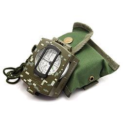 waterproof multifunctional military lensatic compass great