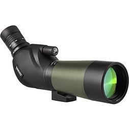 Gosky 20-60x60 Waterproof Spotting Scope -BAK4 Angled Spotti