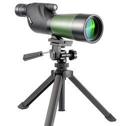 Gosky 20-60X60 Waterproof Spotting Scope- Porro Prism Spotti
