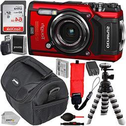 Olympus Waterproof Tough TG-5 Digital Camera  with SanDisk U