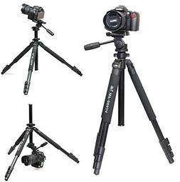 Weifeng NEW Professional WF-6663A Tripod include head for Bi