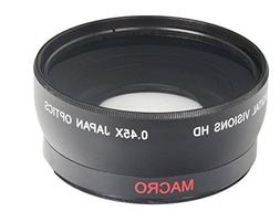 52MM Wide Angle 0.45x Converter Lens w/ Macro Close-Up Attac