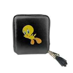 Women's Looney Tunes Tweety Bird Fashion Square Zpper Wallet